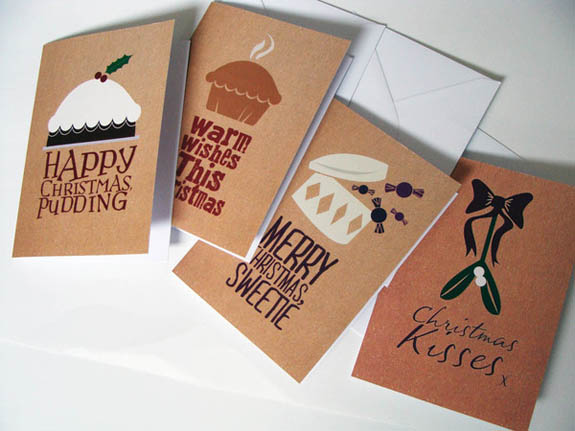 Christmas card designs for tigerprint design print for Inspirational christmas cards design