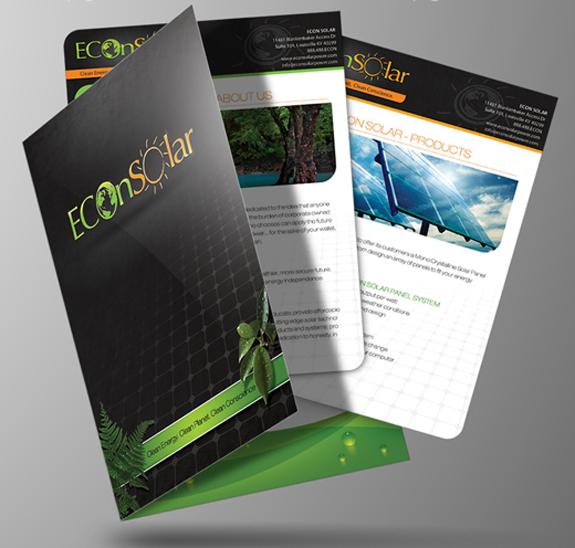 Ec0n-Solar presentation folders