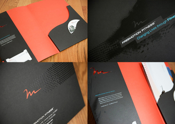 FreeMotion Fitness Brand Folder