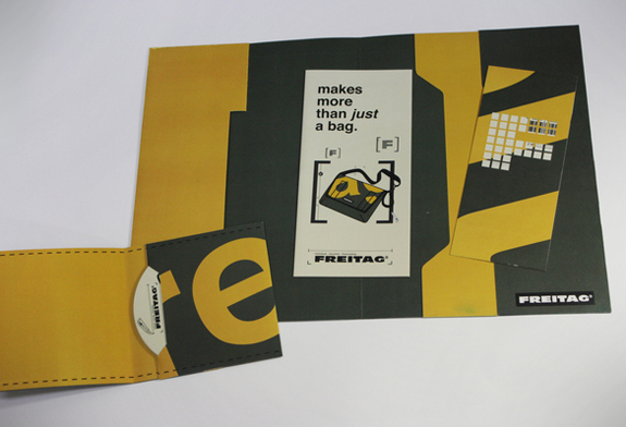 Freitag Promotional Folder
