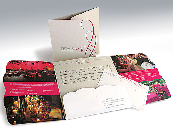Promotional Materials for Event Planner